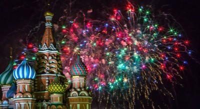 В Москве выбрали лучшие места для запуска новогодних фейерверков