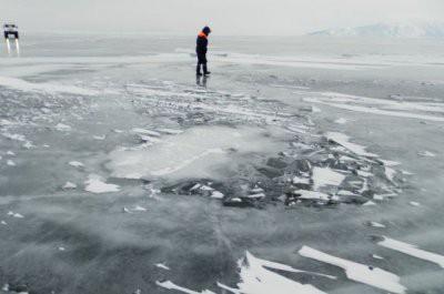 Под Ростовом ребенок утонул, провалившись под лед