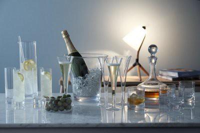 Ученые определили лучший бокал для шампанского