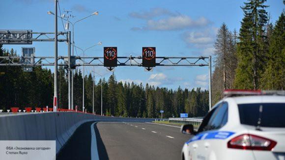 На некоторых трассах России планируют увеличить допустимый скоростной лимит