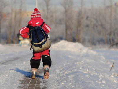 В Астане школьника высадили из автобуса в мороз