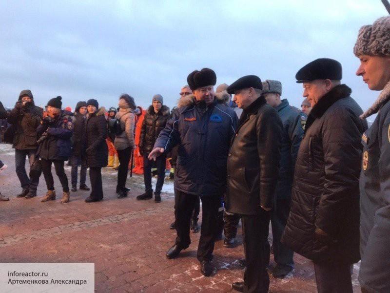 Беглов посетил учения МЧС в Петербурге