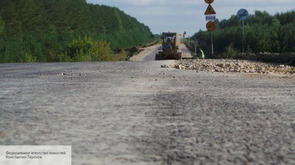 В Калининградской области пенсионер сам построил новую дорогу