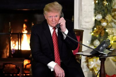 Трамп назвал «нормальный» возраст для веры в Санта-Клауса