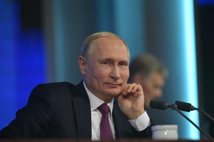 Два самых главных события года назвал Владимир Путин