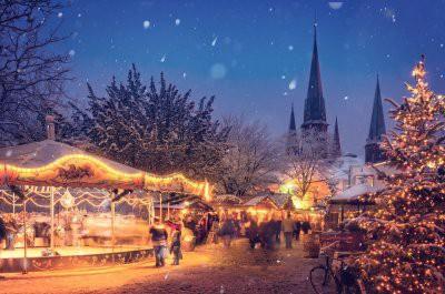Европа готовится к Рождественским каникулам