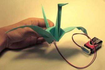 Силиконовое масло повысило мощность оригами-роботов