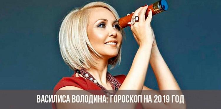 Гороскоп на 2019 год от Василисы Володиной по знакам зодиака