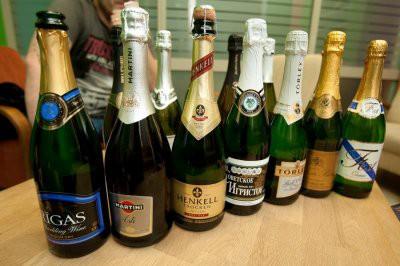 Роскачество проверило шампанское отечественного производства