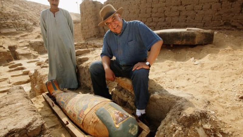 Египетского археолога едва не погубило проклятие мумии