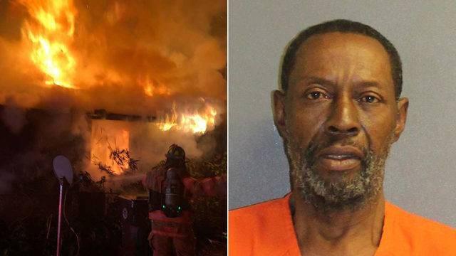 Во Флориде мужчина сжег свой дом, крича про вампиров
