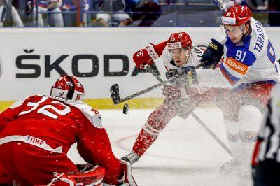 Россия - Дания МЧМ-2018 по хоккею: анонс