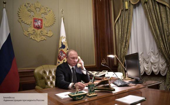 Путин провел телефонные переговоры с коллегами из Финляндии и Киргизии