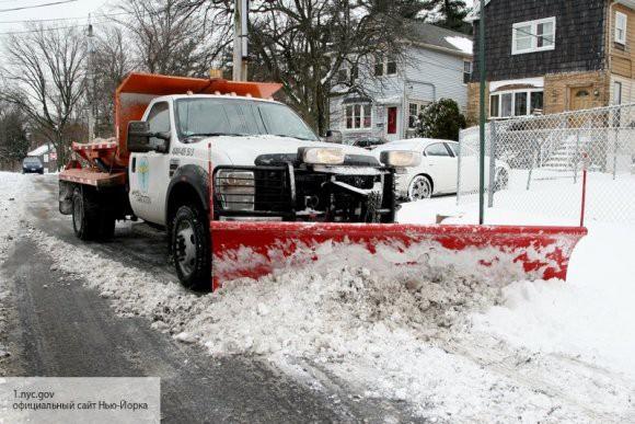 В США уже два человека стали жертвами снегопада