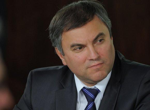 Володин предостерег Макрона и Меркель, потребовавших освободить украинских моряков