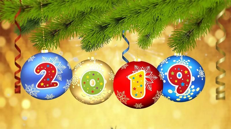 Поздравления с Новым годом 2019 в стихах, короткие, прикольные