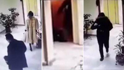 Момент убийства топ-менеджера нефтяной компании Шалвы Шаляхова попал на видео