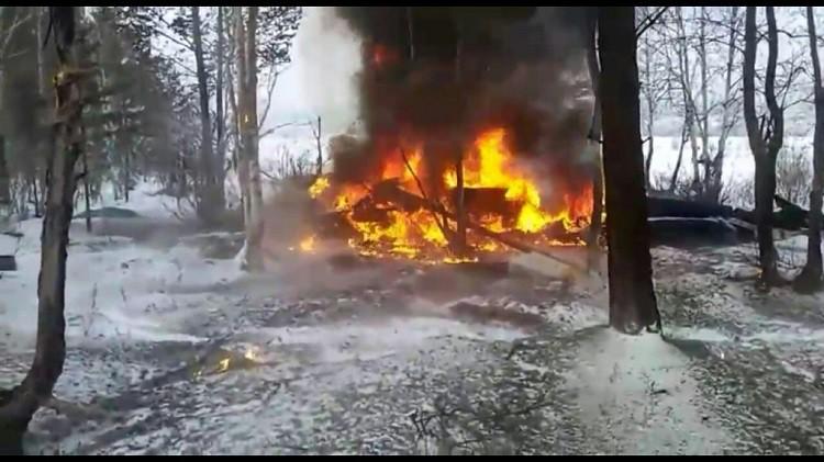 В Улан-Удэ разбился вертолет - причины, подробности, видео