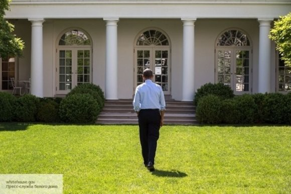 Трамп оценил стену вокруг особняка Обамы