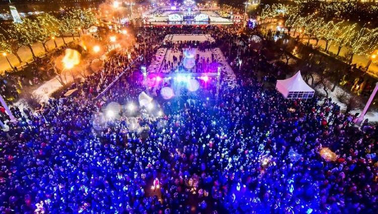 Новогодняя ночь в парке Горького 2019 - программа мероприятий
