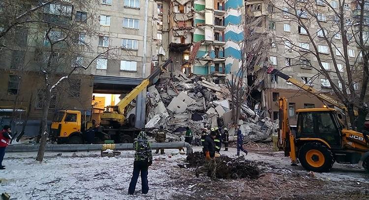 Трагедия в Магнитогорске 31 декабря 2018 - новости обрушения дома, подробности, фото, видео