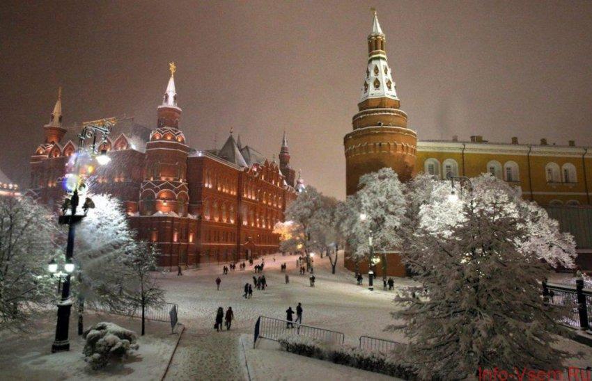 Какая погода будет на Новый год 2019 в Москве — точный прогноз