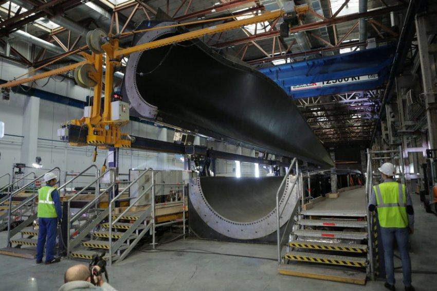В Ульяновской области запущено производство по изготовлению лопастей для ветроустановок