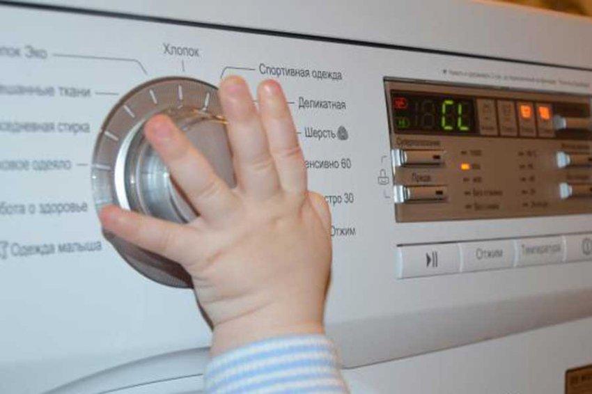 На Ямале трехлетний ребенок задохнулся в стиральной машине