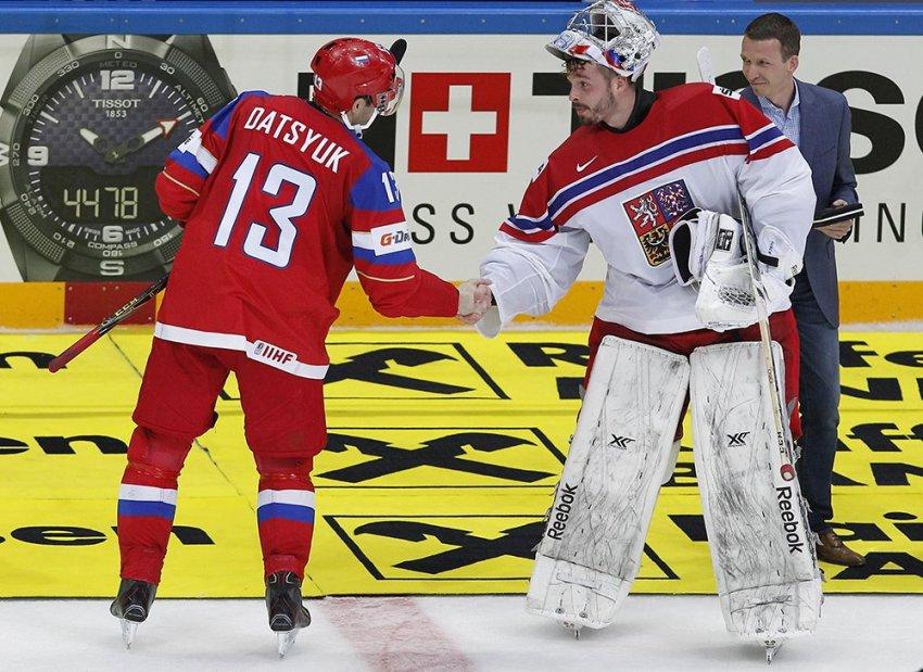 Хоккей Россия — Чехия (15 декабря 2018) прямая трансляция Кубка Первого канала