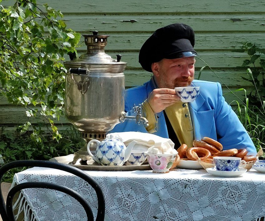 Смешные картинки с чаепитием