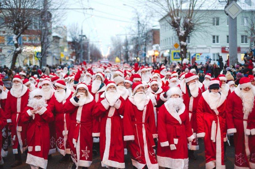 Шествие Дедов Морозов в Рыбинске 2018, программа: когда начало