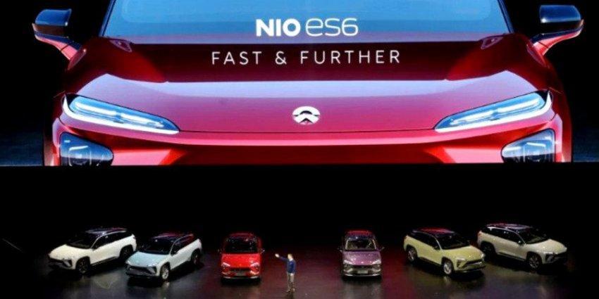 «Китайская Tesla» представила свой второй серийный электромобиль ES6