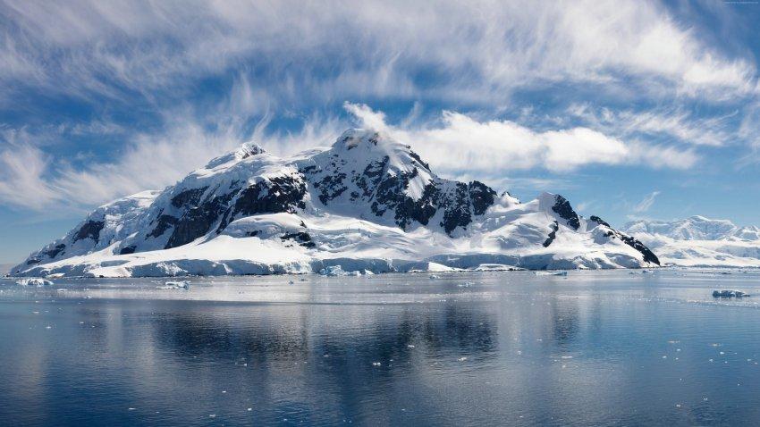 В Северном Ледовитом океане по неизвестным причинам исчез остров
