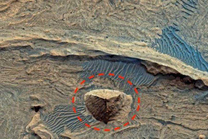 Огромная древняя пирамида обнаружена на Марсе