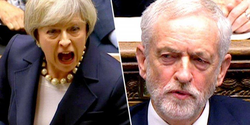 Лидер оппозиции Великобритании обвиняется в сексизме, за то, что назвал премьер-министра Терезу Мэй «глупой женщиной»