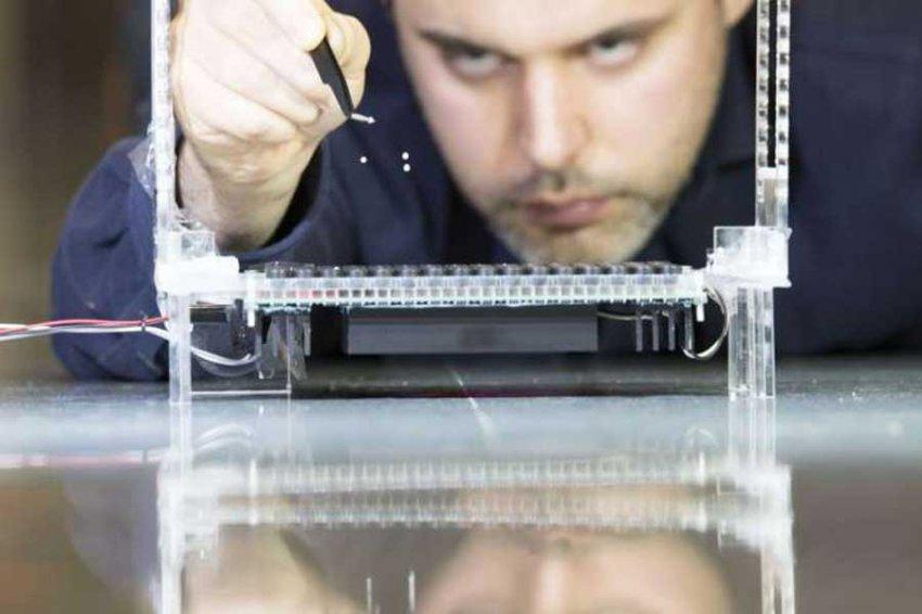 Новое звуковое устройство манипулирует частицами в 3-х измерениях