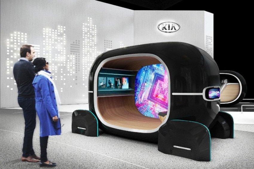 KIA на выставке CES-2019
