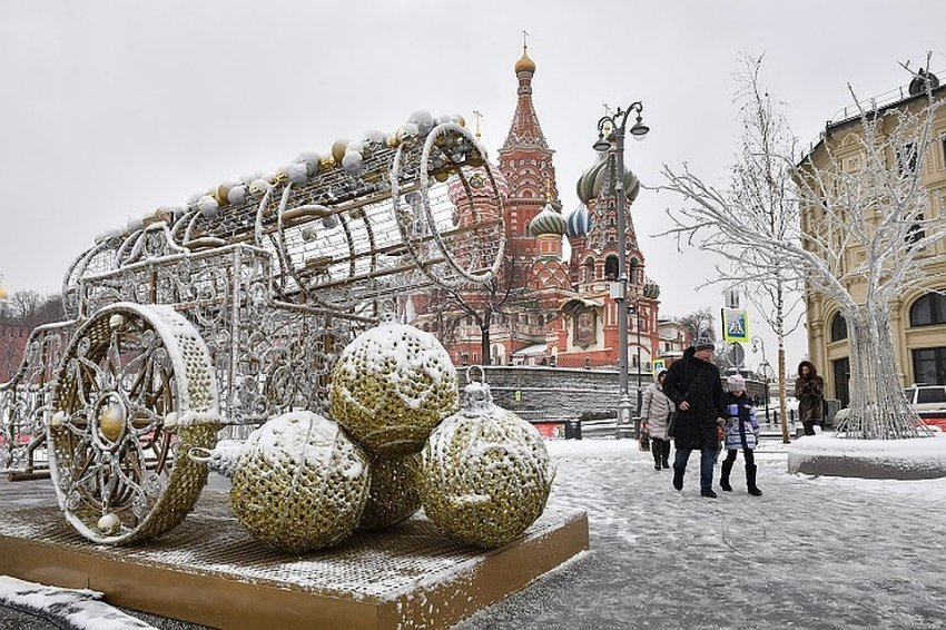 Погода в Москве сегодня 21 декабря 2018 год