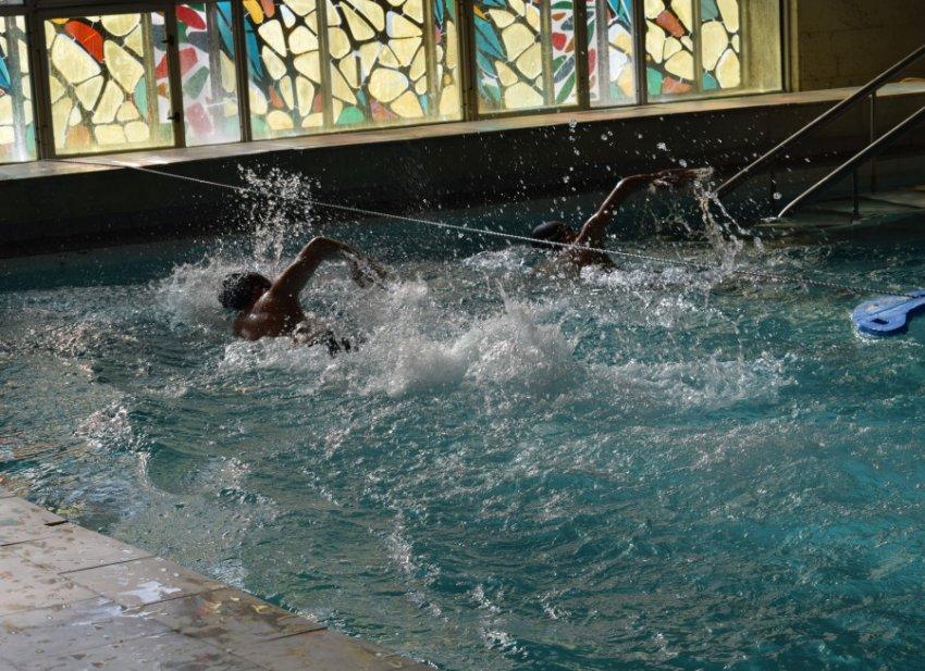 В ЦТРиГО прошло награждение пловцов
