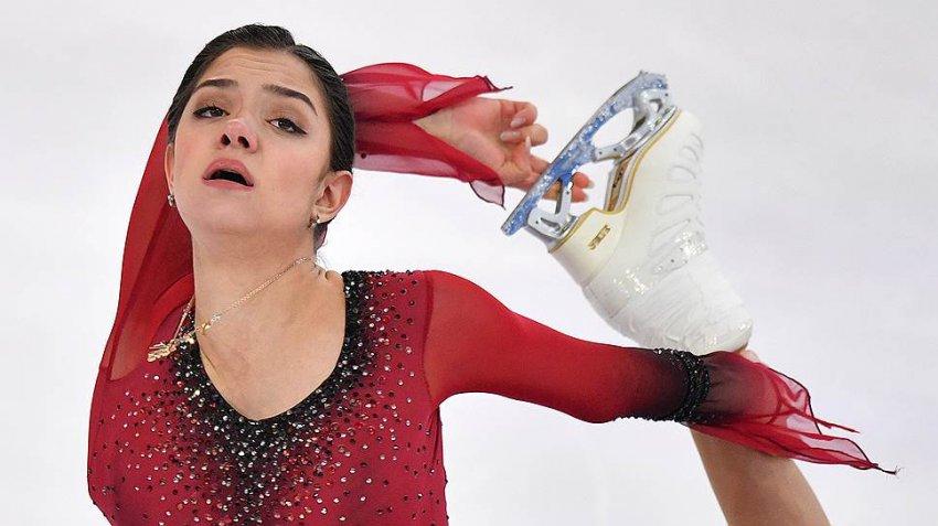 Евгения Медведева: какое место заняла, короткая программа, Фигурное катание чемпионат России