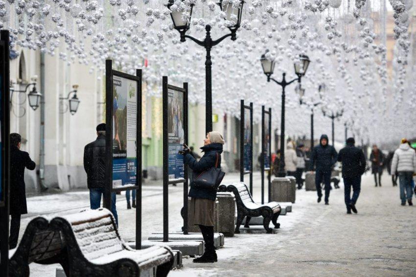 Погода в Москве на сегодня 23 декабря 2018 год: в Москве снежно и облачно