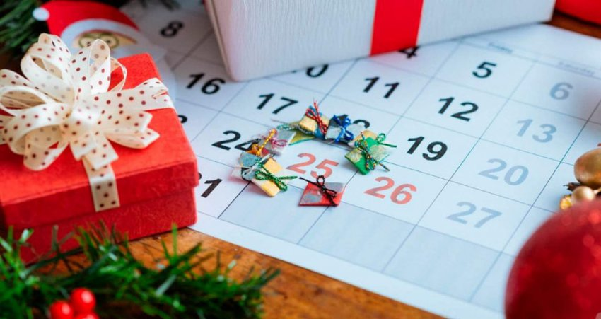 Последний рабочий день в декабре 2018: новогодние каникулы сколько продлятся дней, с какого и до какого числа