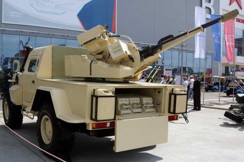 В РФ создают беспилотный боевой модуль для борьбы с дронами