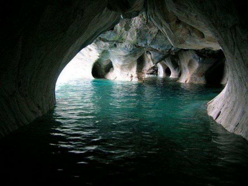 Мраморные пещеры - кусочек волшебства в Чили