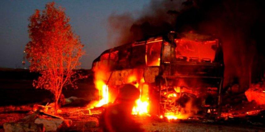 Израильский вертолет нанес ракетный удар по территории палестинского анклава