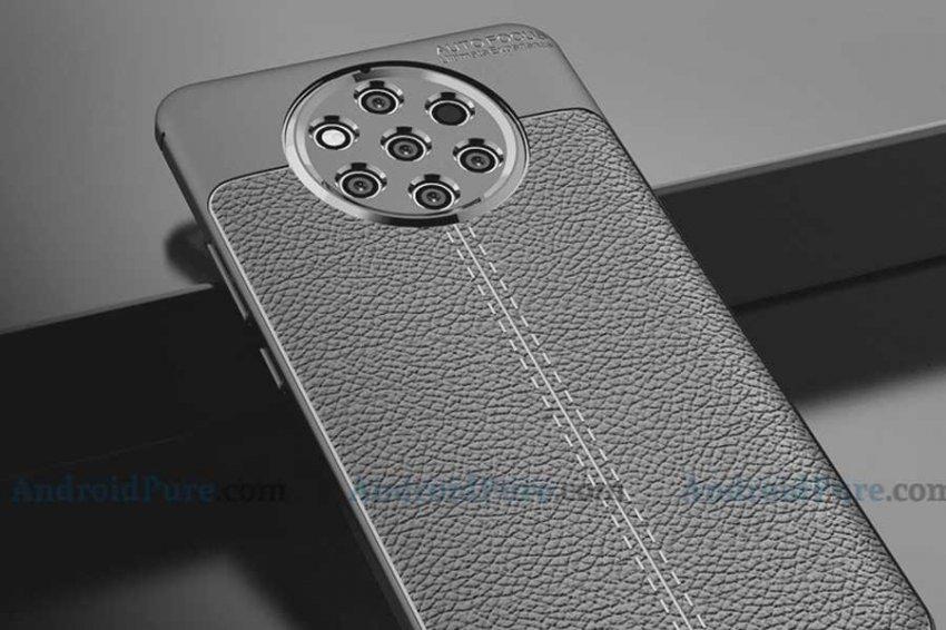 Появились официальные рендеры смартфона Nokia 9 с пентакамерой