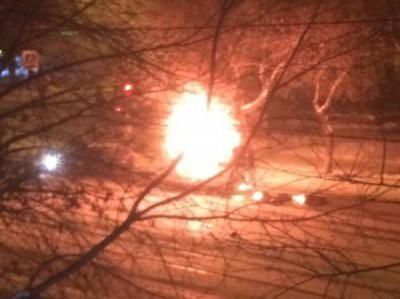 В Магнитогорске близ рухнувшего дома взорвалась маршрутка