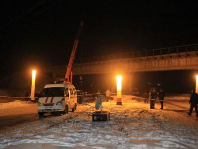 В Донецке подорвали железнодорожный мост