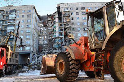 Число погибших при обрушении части дома в Магнитогорске возросло до 37