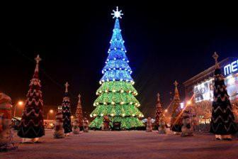 5 самых зрелищных новогодних елок мира